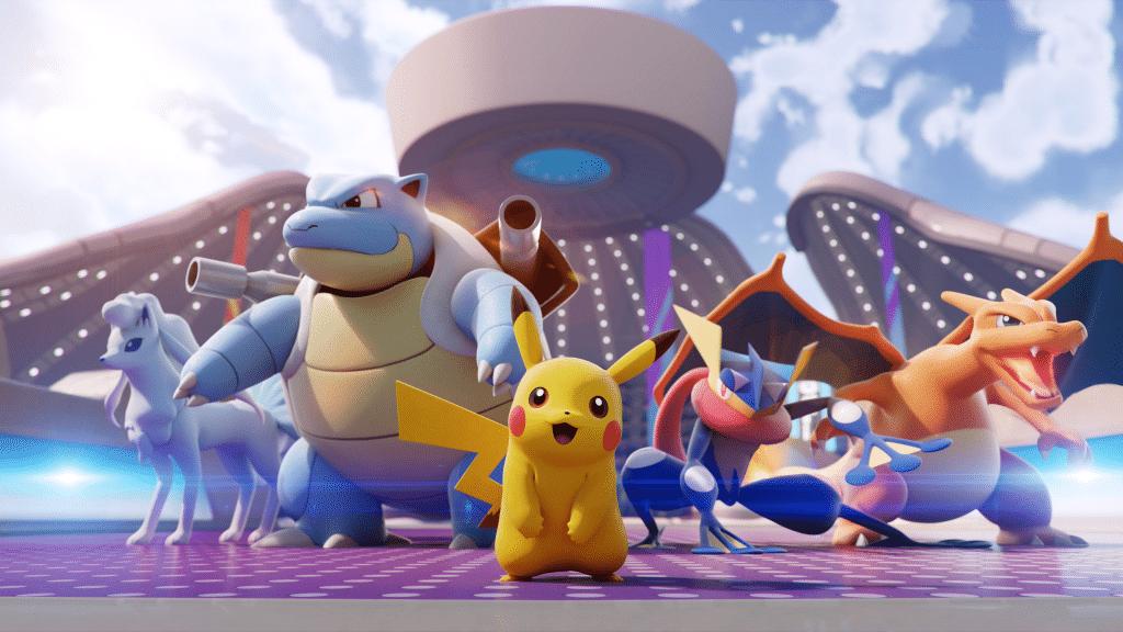Pokemon Unite Team Up. Take Down Screenshot 1
