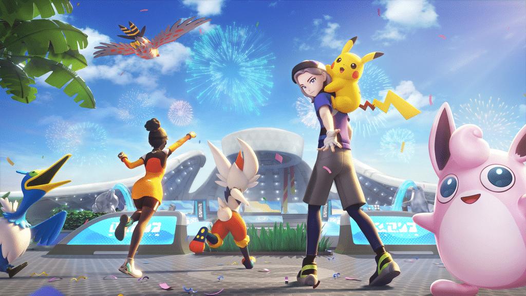 Pokemon Unite Welcome To Aeos 1080p