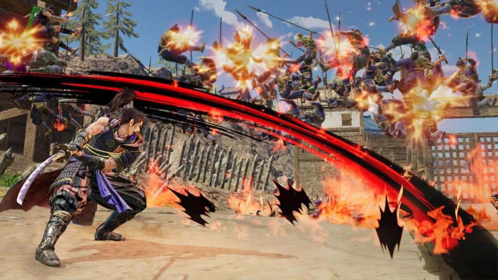 Samurai Warriors 5 Screen 01