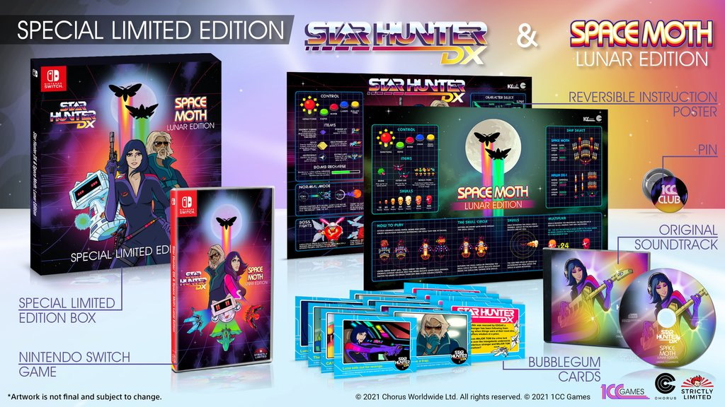 Star Hunter Dx Space Moth Edition Limited