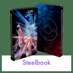 Pokemondiamantetincelant Pokemonperlescintillante Steelbook