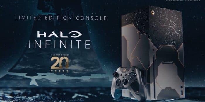 Console Xbox Series X Halo Infinite
