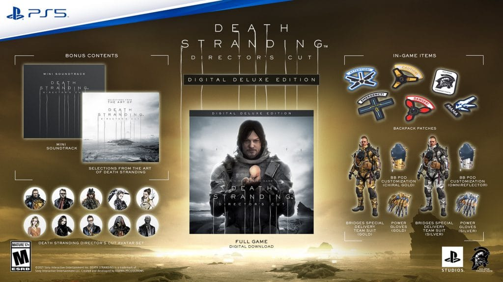 Death Stranding Directors Cut Deluxe Edition