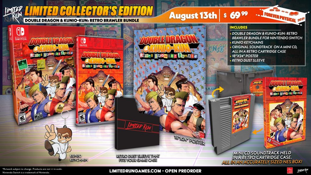Double Dragon And Kunio Kun Retro Brawler Bundle Lrg Collector