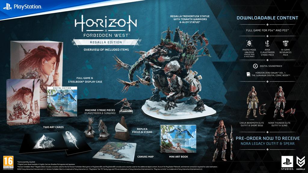 Horizon Forbidden West Edition Regalla