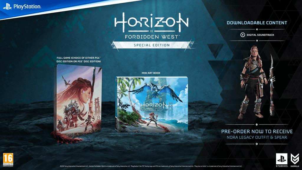 Horizon Forbidden West Edition Speciale