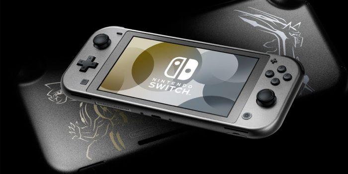 Nintendo Switch Lite Dialga Palkia Recto