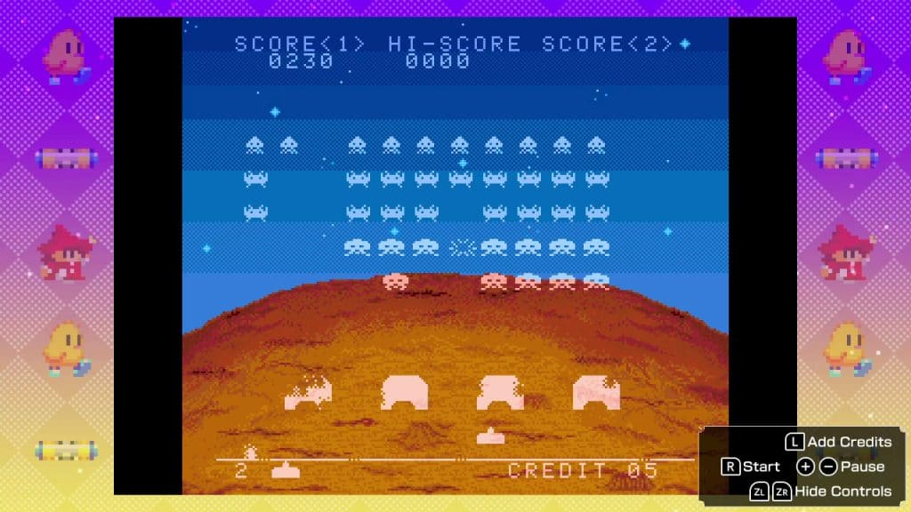 Space Invaders Invincible Collection Screen 01