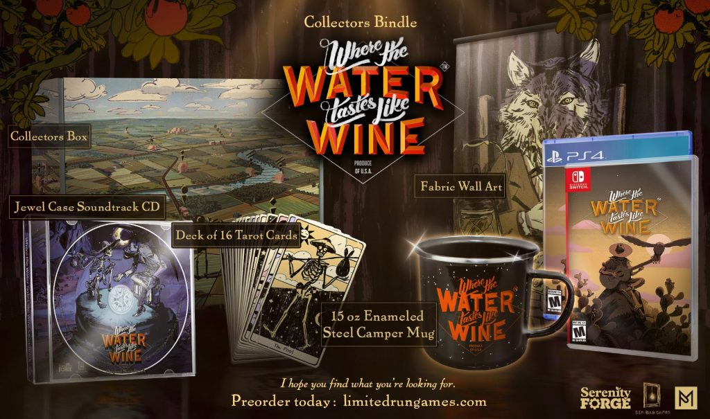 Where The Water Tastes Like Wine Lrg Collector