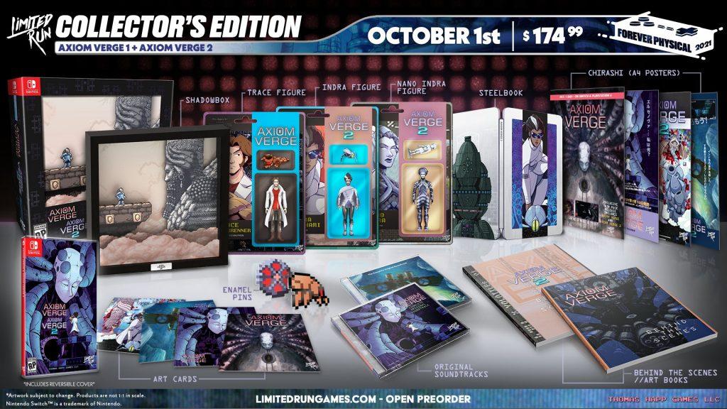Axiom Verge 1 2 Lrg Edition Collector