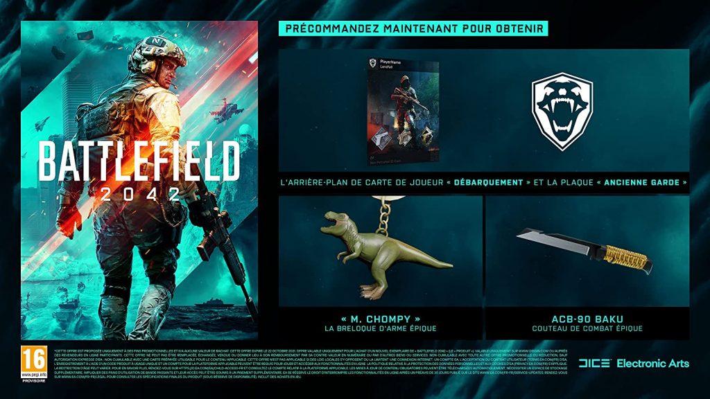 Battlefield 2042 Bonus Precommande