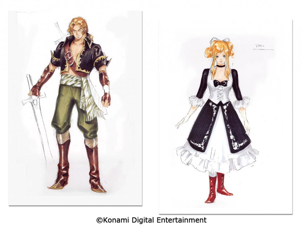 Castlevania Advance Collection Artwork 2