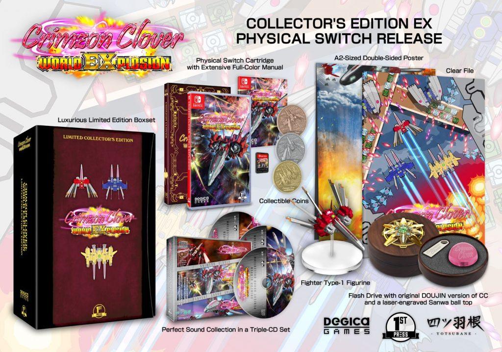 Crimzon Clover World Explosion Fpg Collector Ex