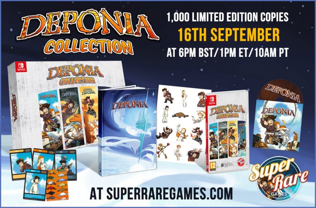 Deponia Collection Srg Collector