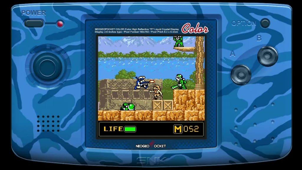 Metal Slug 1st Mission Screen 01