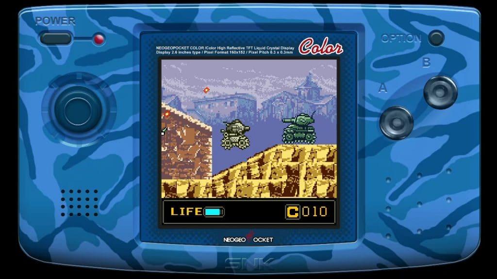 Metal Slug 1st Mission Screen 02