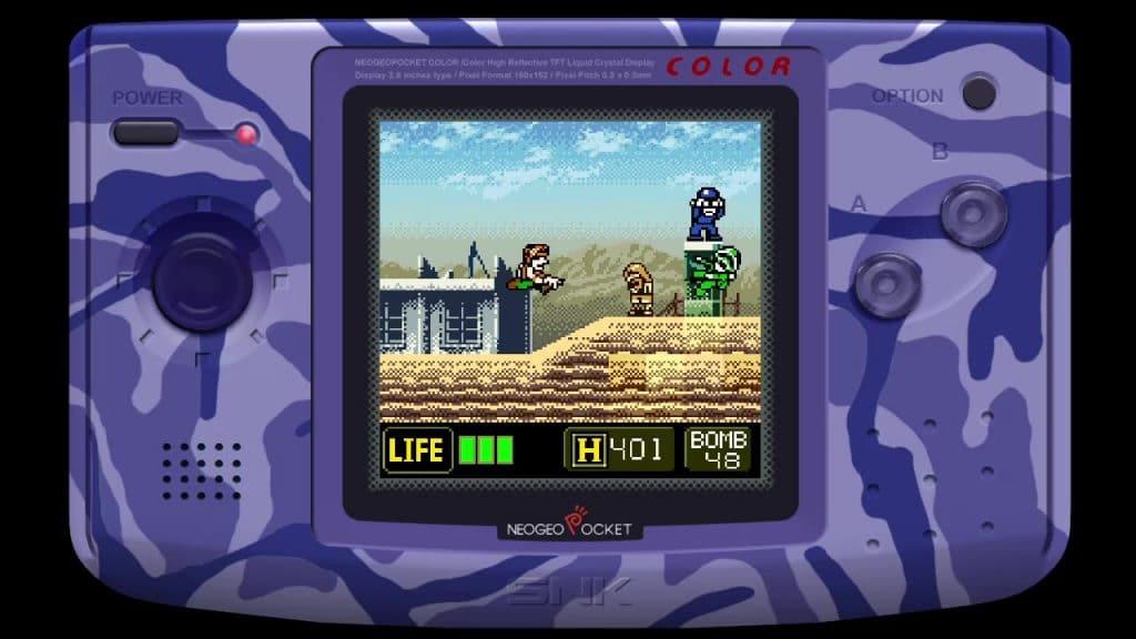 Metal Slug 2nd Mission Screen 01