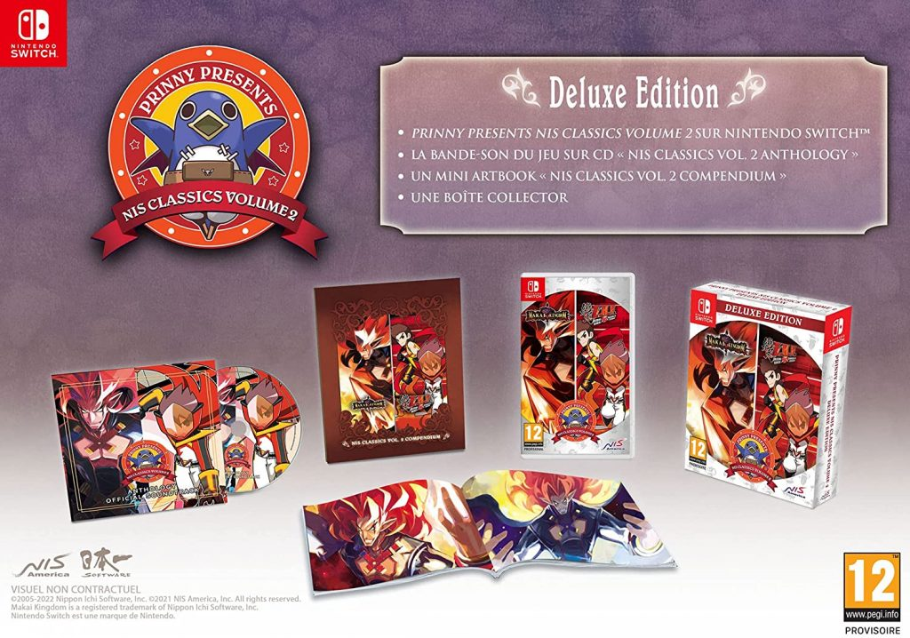 Prinny Presents Nis Classics 2 Edition Deluxe Switch