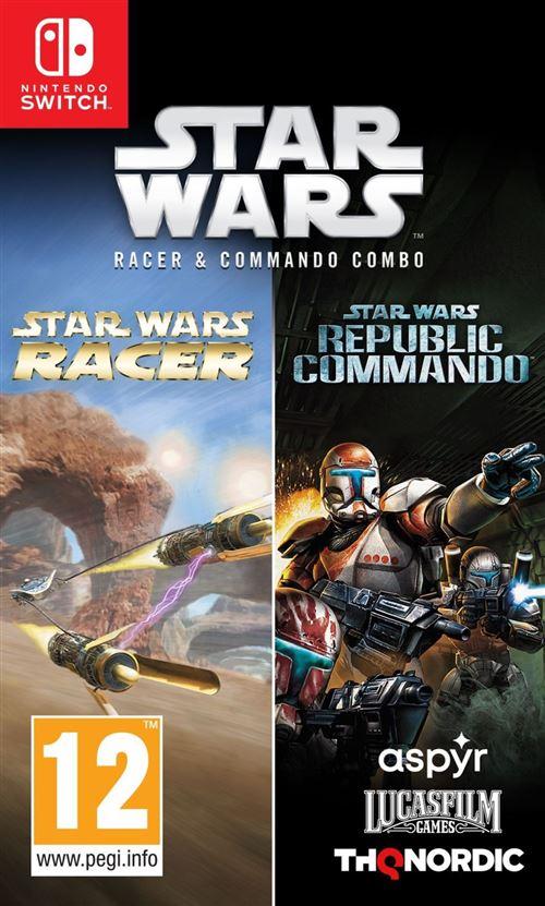 Star Wars Racer Commando Combo