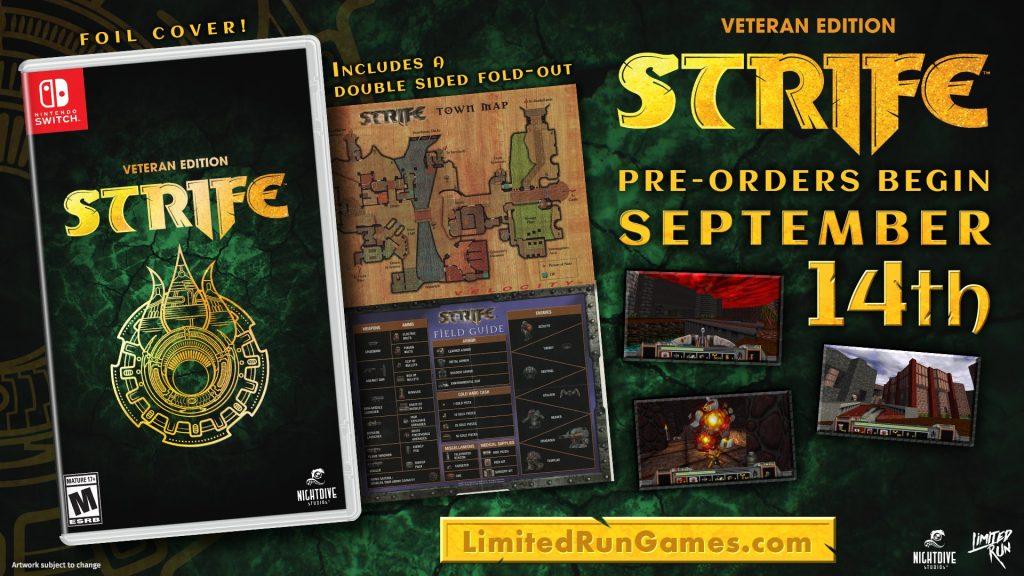 Strife Veteran Edition Lrg