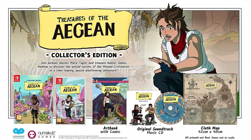 Treasures Of The Aegean Edition Collector Switch