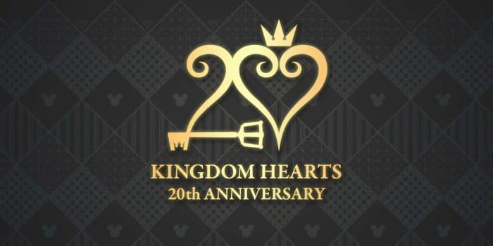 Kingdom Hearts 20th Anniversary Logo