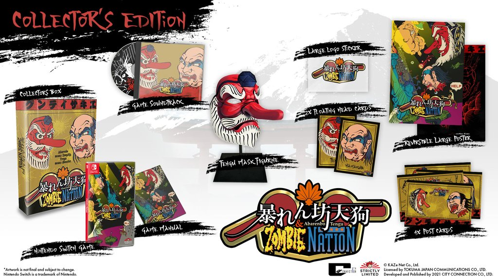 Zombie Nation Collector Switch